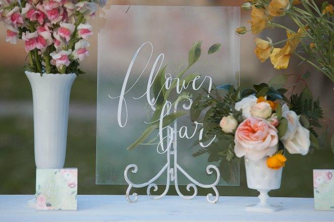 Flower Bar Sign