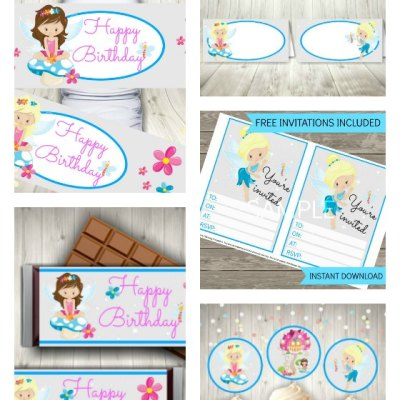 Beautiful Fairy Printables The Girls Will Love