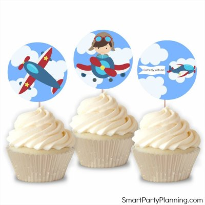 The Best Airplane Party Printables For Easy Party Styling