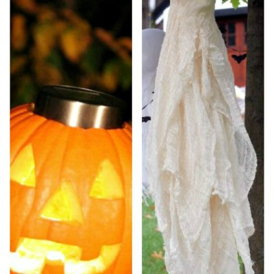 17 of The Best Outdoor Halloween Decorations You Can Easily Make