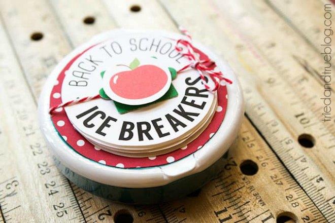 Ice Breaker Teacher Gifts