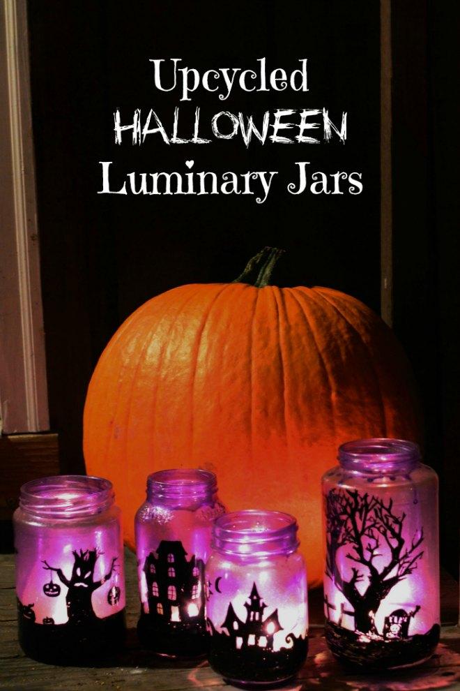 Upcycled-Halloween-Luminary-Jars