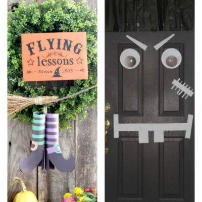 14 of The Best Cheap And Easy Halloween Door Ideas
