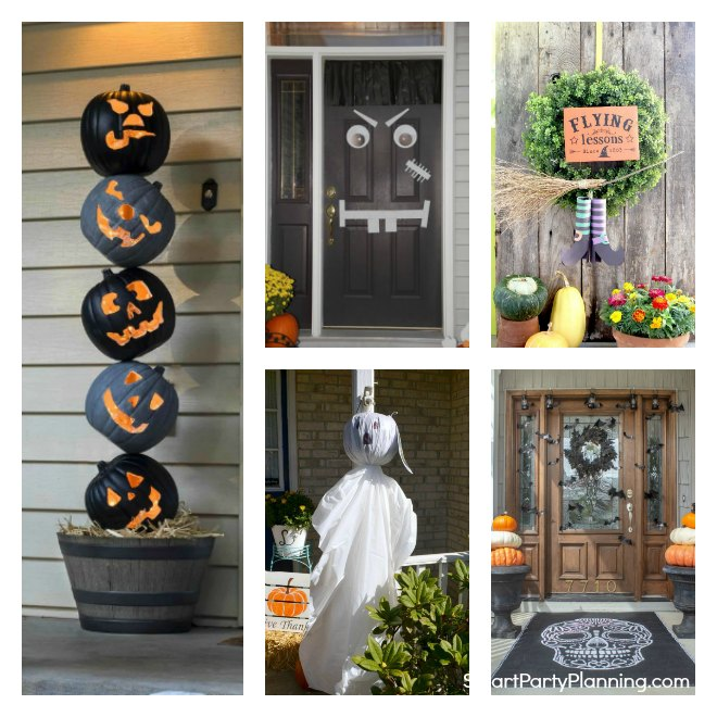 Easy Halloween Door Ideas