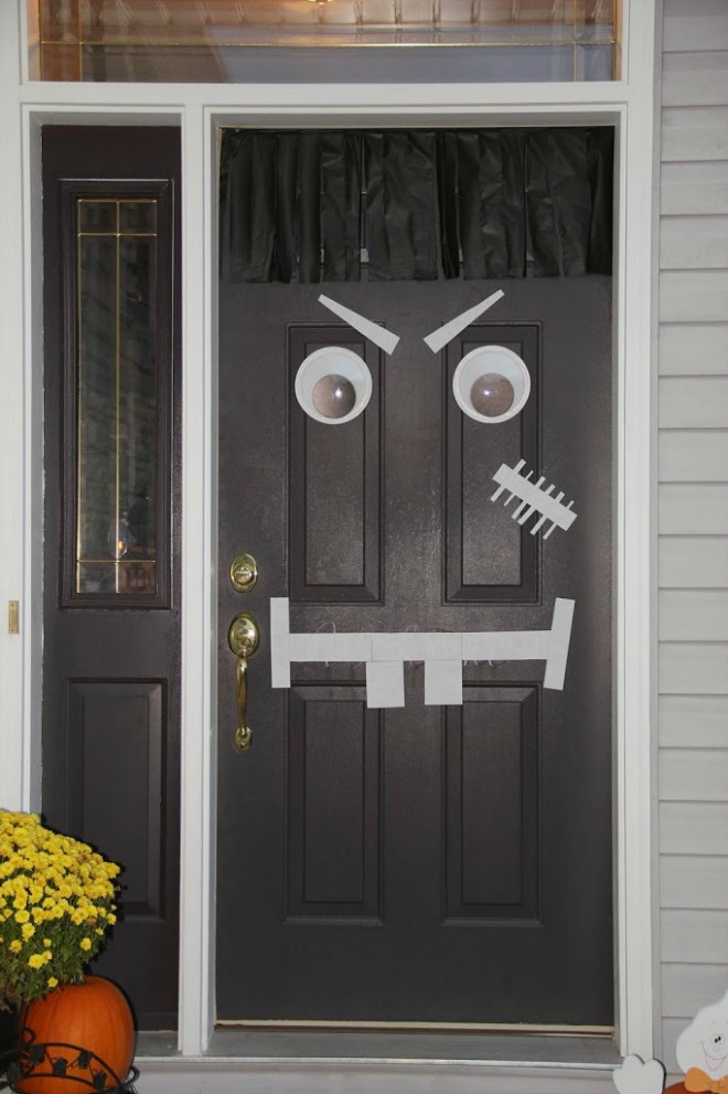 Halloween-Monster Door