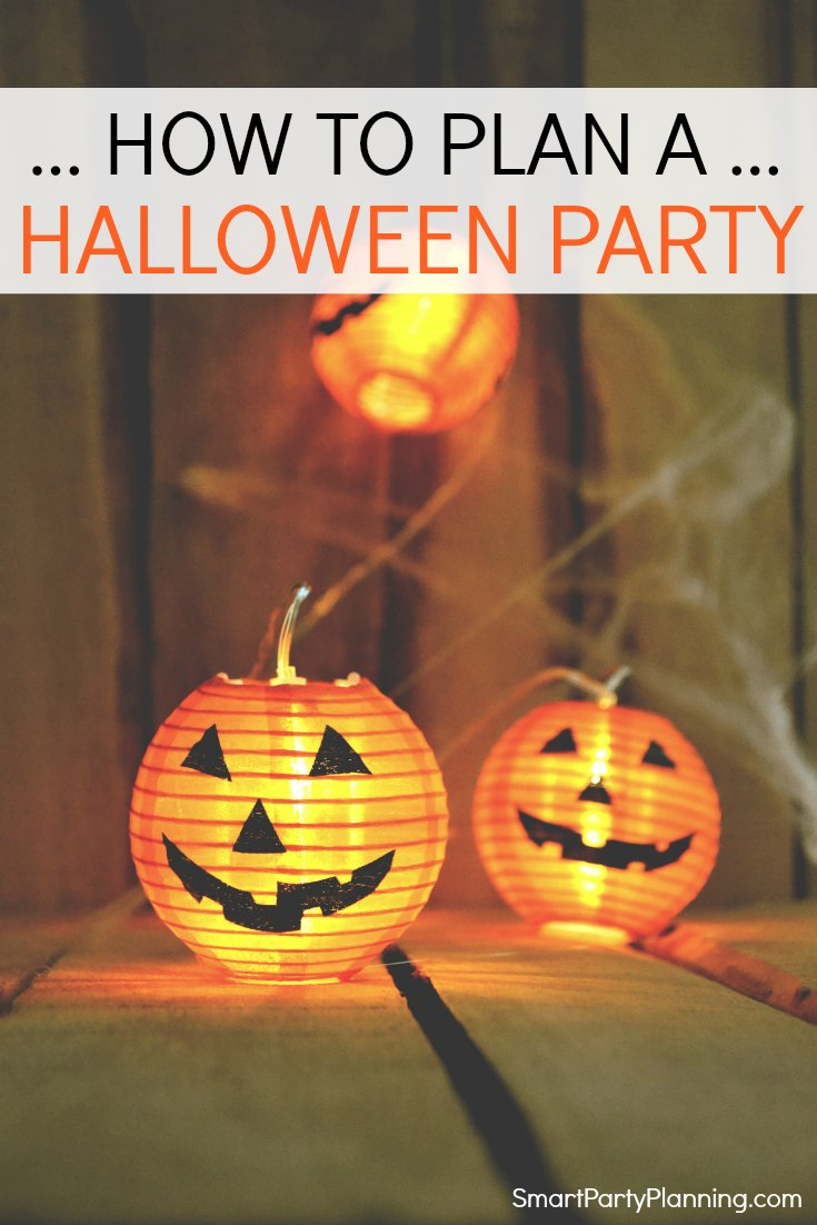 How to plan a Halloween party easily