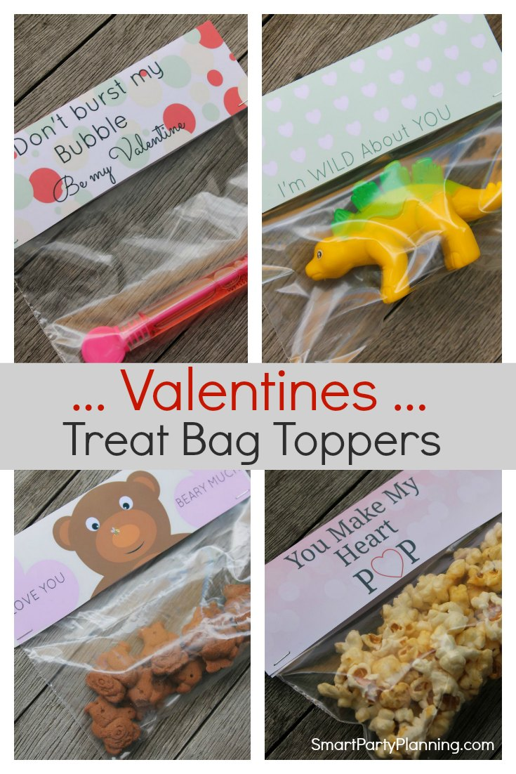Valentines Treat Bag Toppers