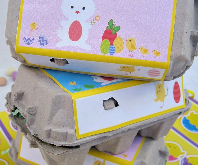 3 boxs of Easter egg cartons