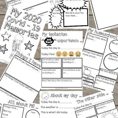 The Best Isolation Time Capsule Printables For Kids