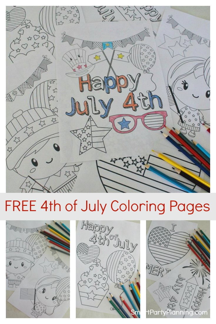 23 Printable July 4th Coloring & Activity Pages for the Kids ... | 1102x735