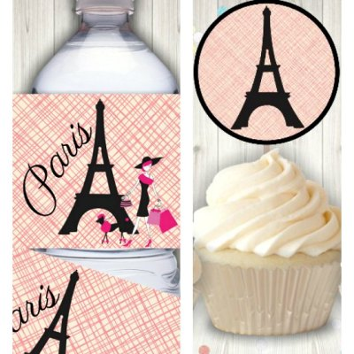 The Best Printable Paris Themed Party Decor