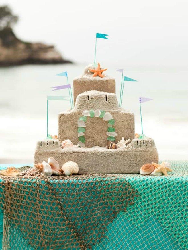 Cardboard Sandcastle
