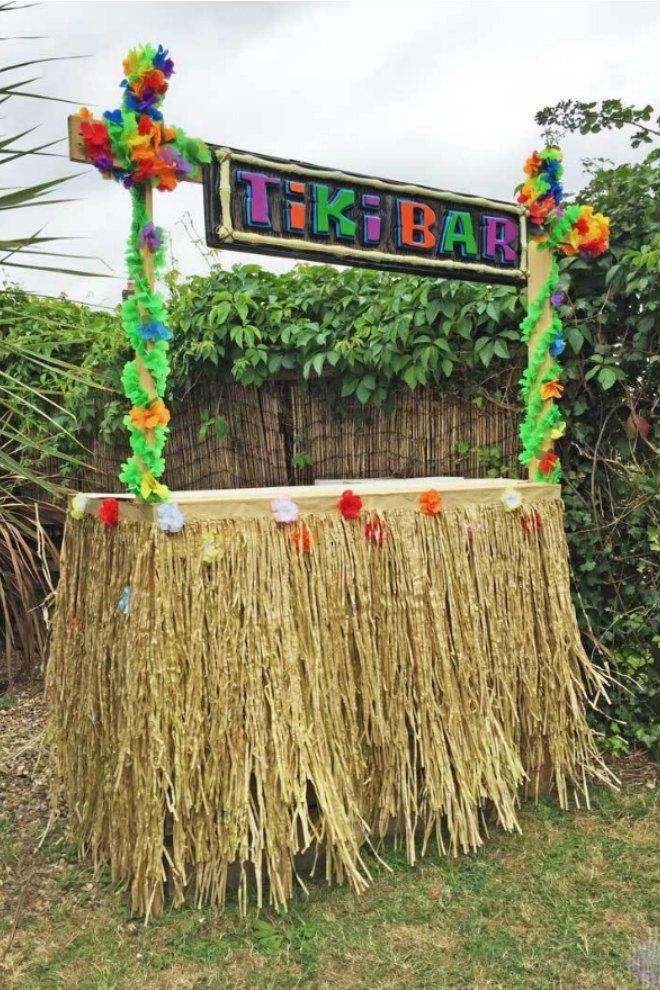 DIY Tiki Bar