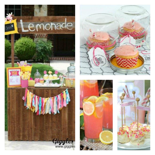 Easy DIY Lemonade Stand Ideas