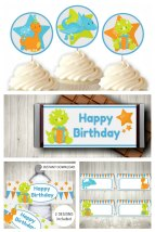 Dinosaur Party Printable Set