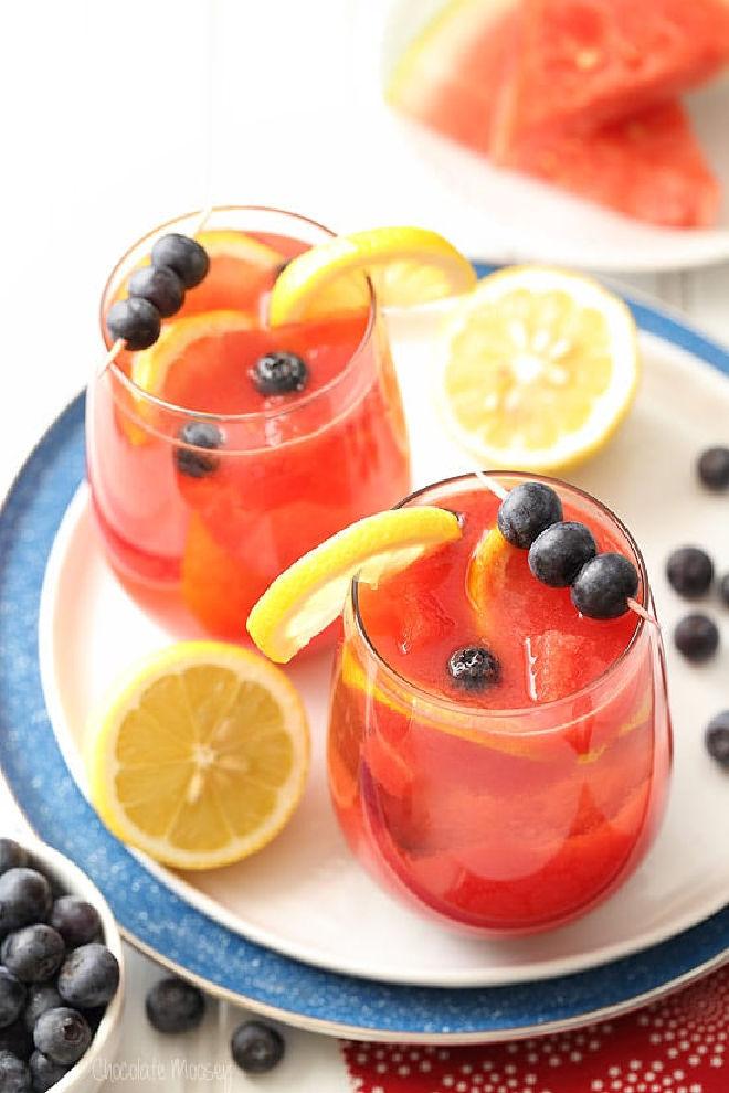 Watermelon-Blueberry-Sangria