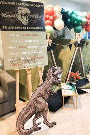 Awesome Paleontologist Birthday Party