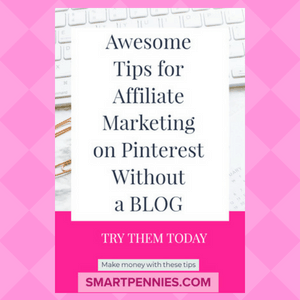 Awesome Tips for Affiliate Marketing on Pinterest Without a BLOG - Blogging Lifestyle DIY & Crafts