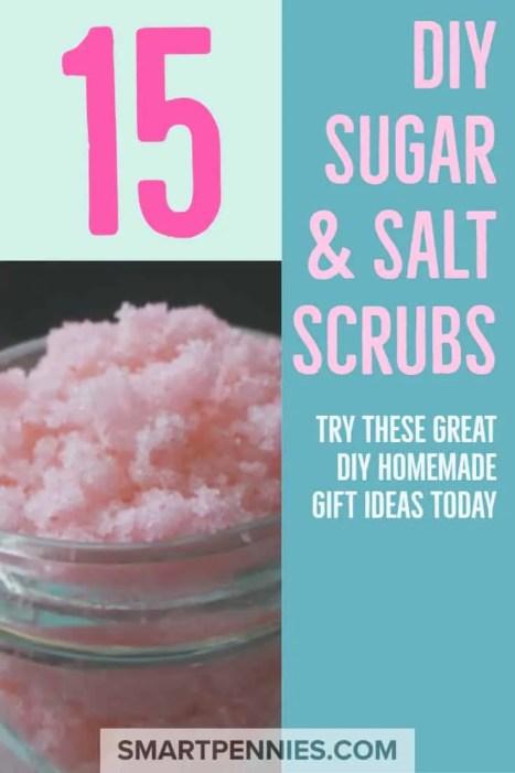 15 DIY sugar & salt scrubs