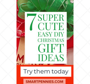 7 super cute Easy DIY Christmas gift ideas