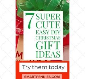 7 super cute Easy DIY Christmas gift ideas