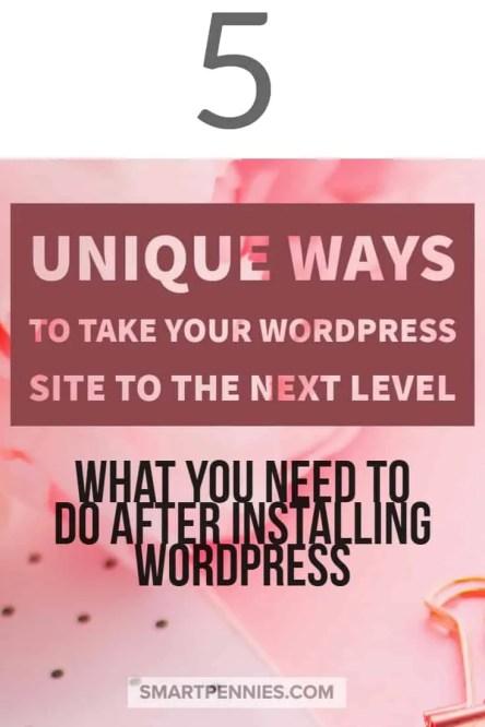 5 unique ways to improve your wordpress site