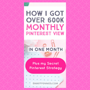 The exact Strategy I used to go from 260k monthly views on Pinterest to over 600k monthly views in ONE month - Blogging Lifestyle DIY & Crafts