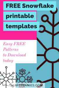 Do you want a free downloadable printable PDF templates then check out this post with TWO free stencil templates you can use for Christmas decorations today