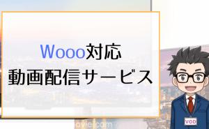 Wooo対応_動画配信サービス