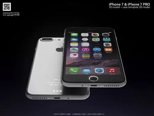 iPhone7/7 Pro 3D画像