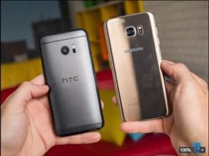 HTC10とGalaxy S7 edge実機テスト比較