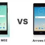 arrows M02とarrows M03を徹底比較