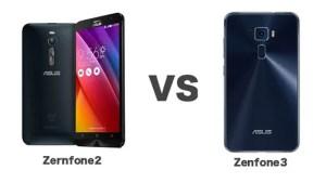 Zenfone3とZenfone2のスペックとデザインを徹底比較!