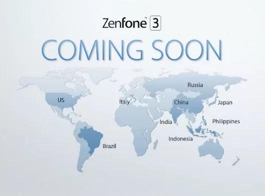 Zenfone3の日本発売は間もなく!