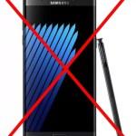9月30日以降、Galaxy Note7をリモートで強制文鎮化