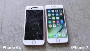 iPhone7は耐久性アップ!3mの高さからの落下テストで無事!