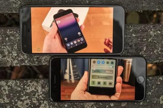 Google PixelとiPhone7のオーディオ比較