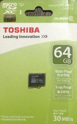 Toshiba micro-sd 64GB 01