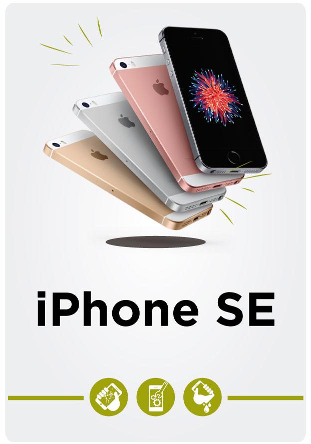 Reparación de iPhone SE