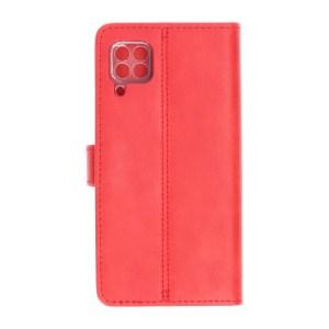 Huawei P40 Lite Rode Bookcase Polar Bear achter