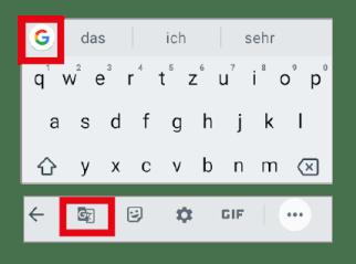 Google Gboard-Tipp: Übersetzen mit dem Gboard