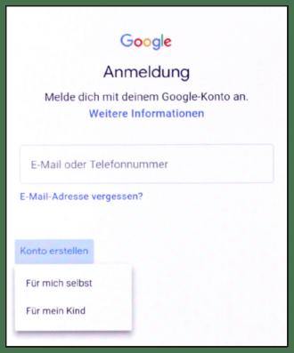 Ihr Handy von Anfang an #2.1: Ersteinrichtung – Google Konto erstellen