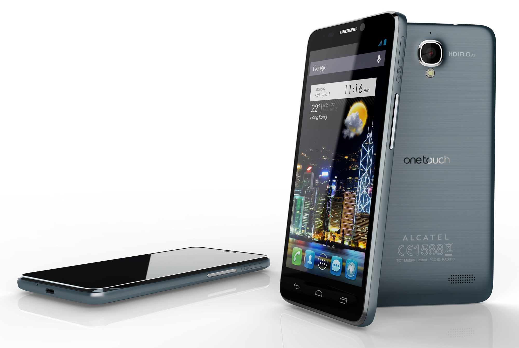 """At CES 2013 presented model Alcatel One Touch Idol Ultra, which is the new """"thinnest smartphone"""""""