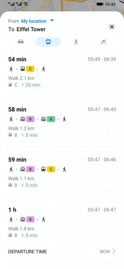 Huawei Petal Maps Routenplaner