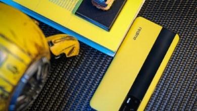 Realme GT 5G gelb Leder