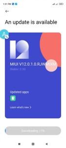 Xiaomi Redmi Note 9S Android 11