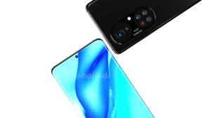 Huawei P50 Pro Plus Render