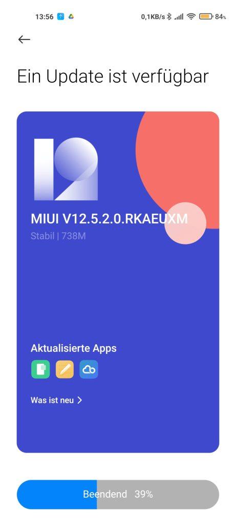 Xiaomi Mi 11 Ultra MIUI 12.5.2-Update
