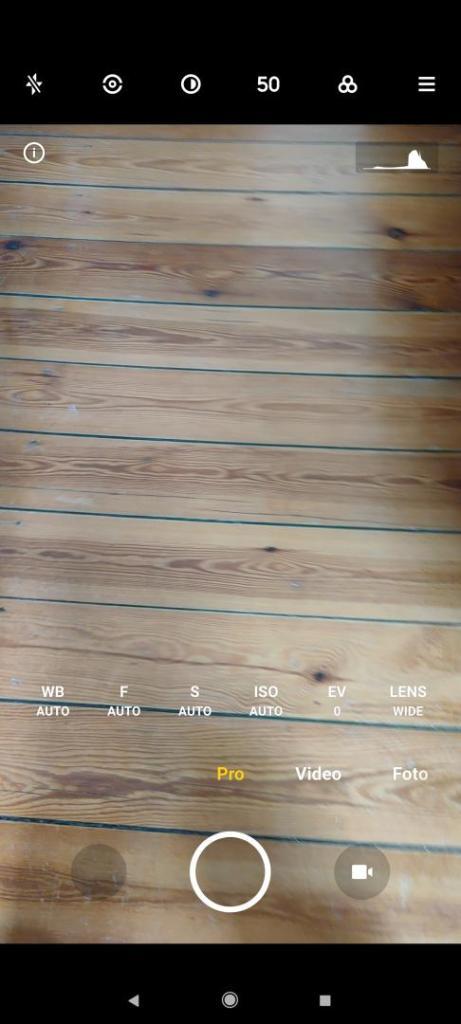 Xiaomi Mi 11 Ultra Kamera-App