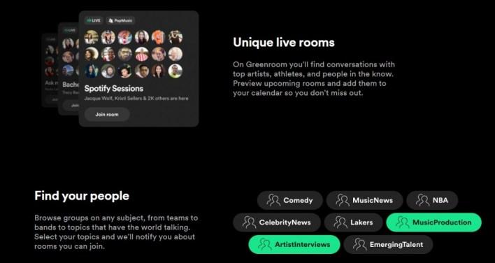 Greenroom Spotify